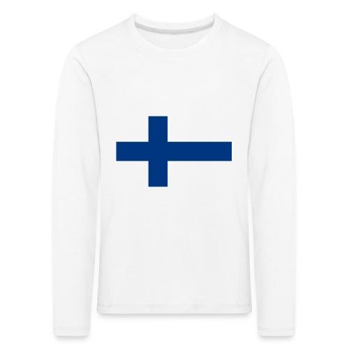 800pxflag of finlandsvg - Lasten premium pitkähihainen t-paita