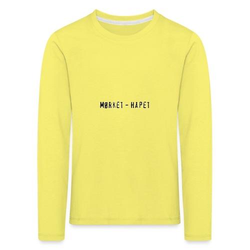 Mørket Håpet - LIght - Premium langermet T-skjorte for barn
