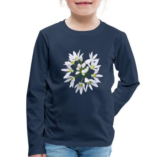 TIAN GREEN Garten - Bärlauch 2020 01 - Kinder Premium Langarmshirt