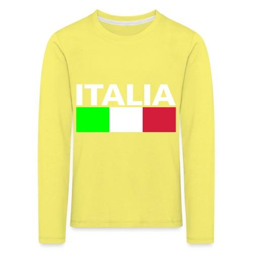 Italia Italy flag - Kids' Premium Longsleeve Shirt