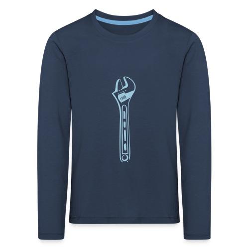 Rollgabelschlüssel - Kinder Premium Langarmshirt
