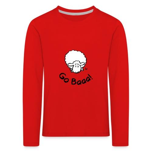 Sheep Go Baaa! - Kids' Premium Longsleeve Shirt