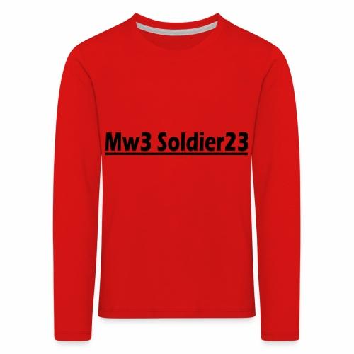 Mw3_Soldier23 - Kids' Premium Longsleeve Shirt