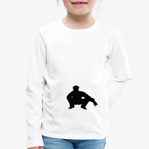 ''Take a squat'' Women's hoodie - Kids' Premium Longsleeve Shirt