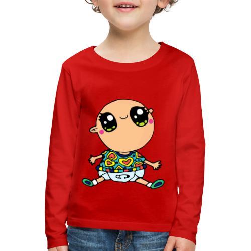 Louis le bébé - T-shirt manches longues Premium Enfant