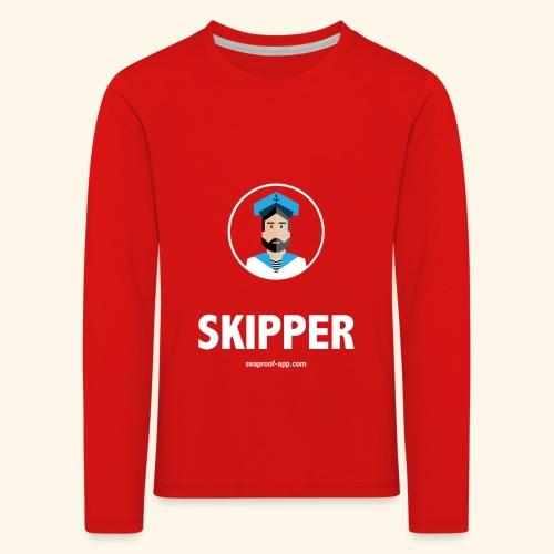 SeaProof Captain - Kinder Premium Langarmshirt