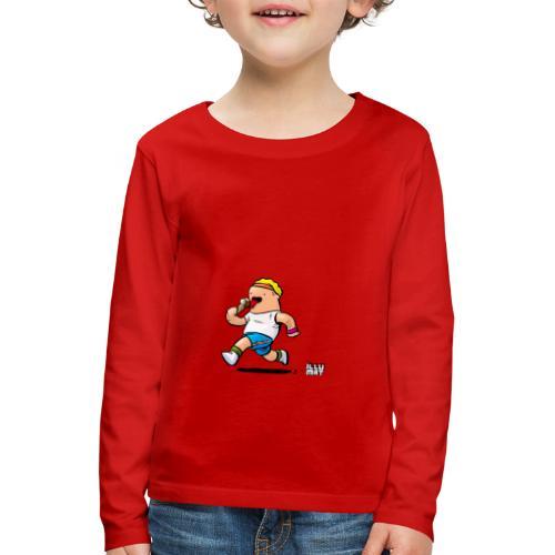 STE 0007 00 Eisdiaet - Kinder Premium Langarmshirt