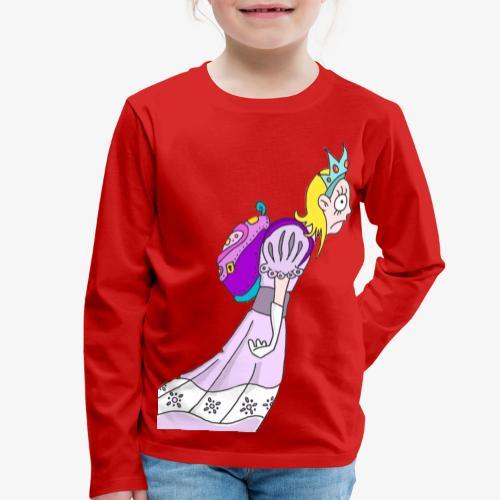 Princess goes to school - T-shirt manches longues Premium Enfant