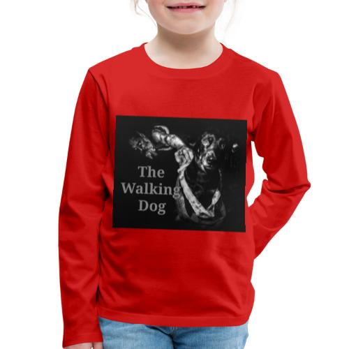 The Walking Dog - Kinder Premium Langarmshirt
