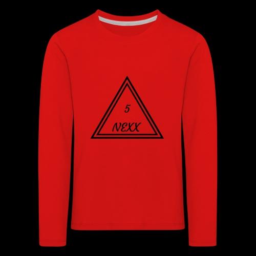 5nexx triangle - Kinderen Premium shirt met lange mouwen