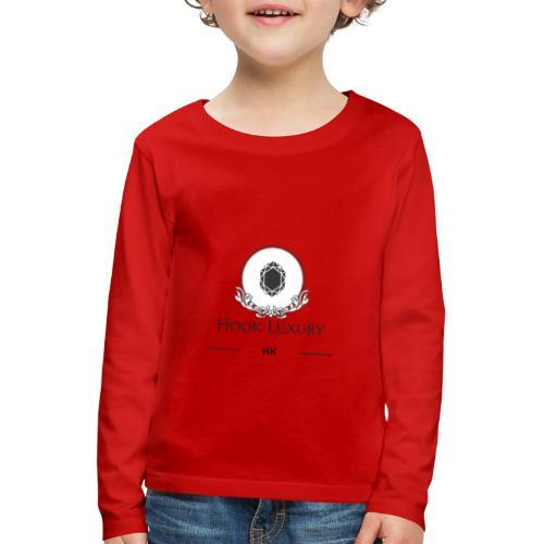 Diseño Diamantes - Camiseta de manga larga premium niño