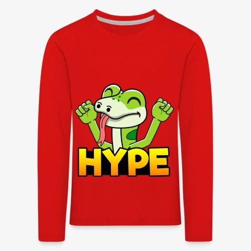 Ödlan Hype - Långärmad premium-T-shirt barn