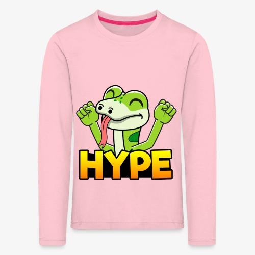 Ödlan - Långärmad premium-T-shirt barn
