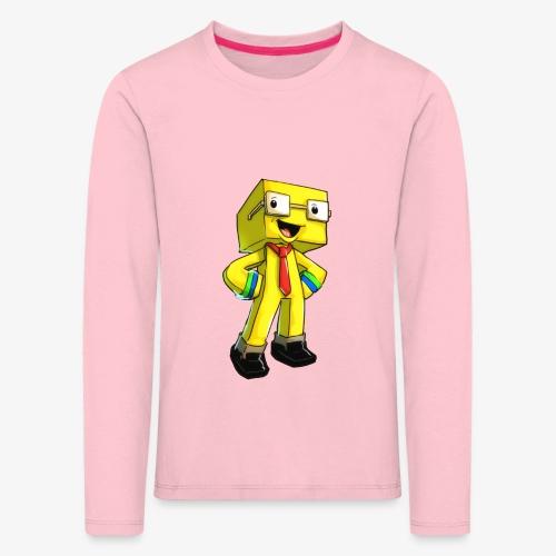 TomuCraft - Långärmad premium-T-shirt barn