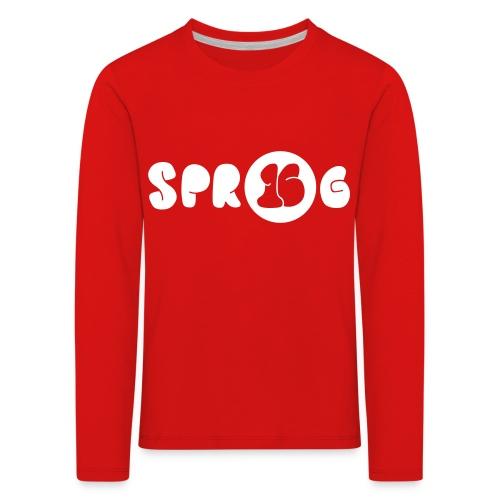 SPR16G Solid - Kids' Premium Longsleeve Shirt