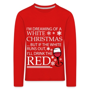 White Christmas - Kids' Premium Longsleeve Shirt