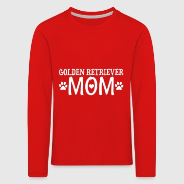Golden Retriever Mom Gift - Kids' Premium Longsleeve Shirt