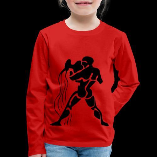 STERNZEICHEN WASSERMANN - Kinder Premium Langarmshirt