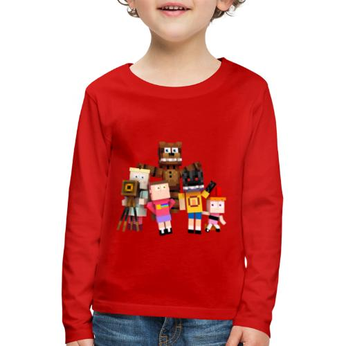 Withered Bonnie Productions - Meet The Gang - Kids' Premium Longsleeve Shirt