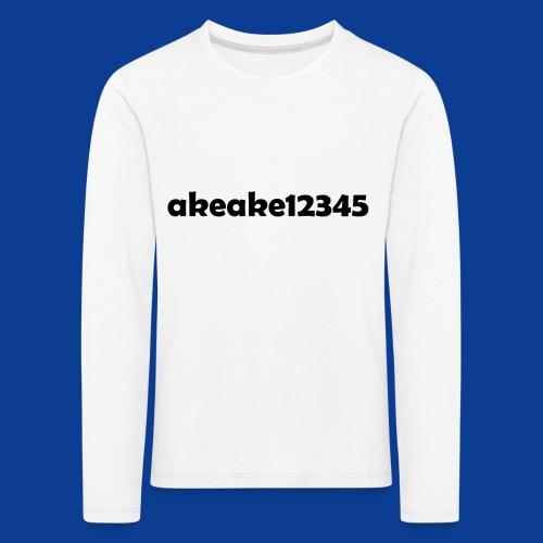 My new shirt - Kids' Premium Longsleeve Shirt