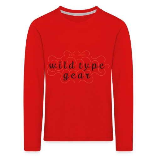 wtg stiched 2 - Kids' Premium Longsleeve Shirt