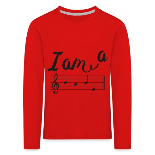 ImABabe - Kinderen Premium shirt met lange mouwen