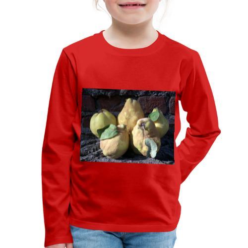 Quitten - Kinder Premium Langarmshirt