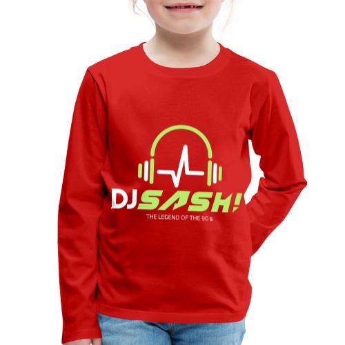 DJ SASH! - Headfone Beep - Kids' Premium Longsleeve Shirt