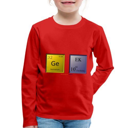 GEEK IV - T-shirt manches longues Premium Enfant