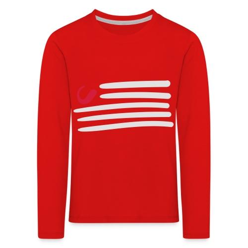tweede - Kinderen Premium shirt met lange mouwen