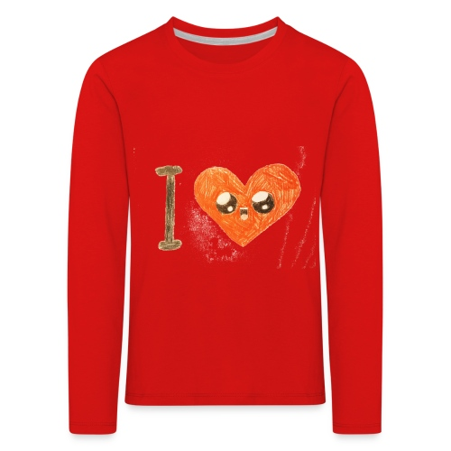 Kids for Kids: heart - Kinder Premium Langarmshirt
