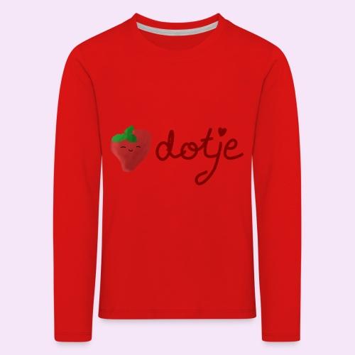 Baby aardbei Dotje - cute - Kinderen Premium shirt met lange mouwen