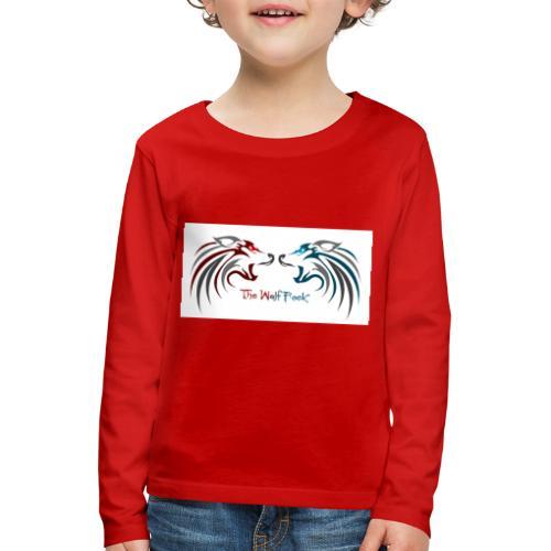 Jeffery - Premium langermet T-skjorte for barn