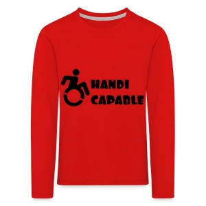 Capable - Kinderen Premium shirt met lange mouwen