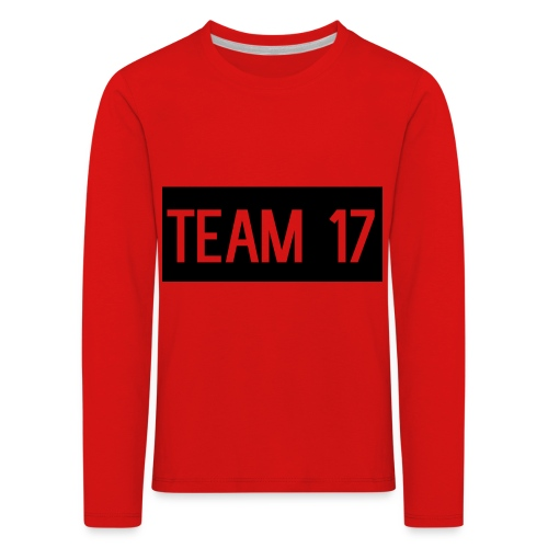 Team17 - Kids' Premium Longsleeve Shirt