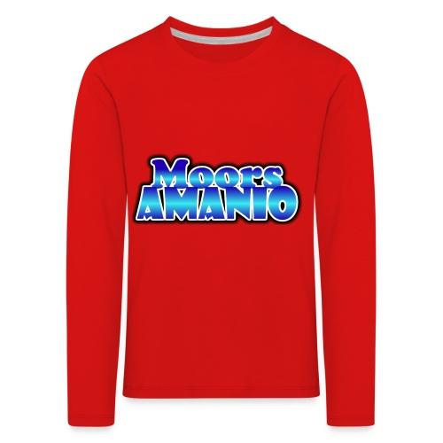 MoorsAmanioLogo - Kinderen Premium shirt met lange mouwen