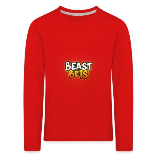 BeastBets - Børne premium T-shirt med lange ærmer