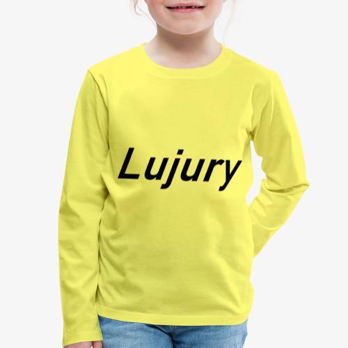 LUJURY - Maglietta Premium a manica lunga per bambini