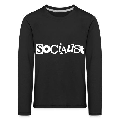 Socialist - Kinder Premium Langarmshirt
