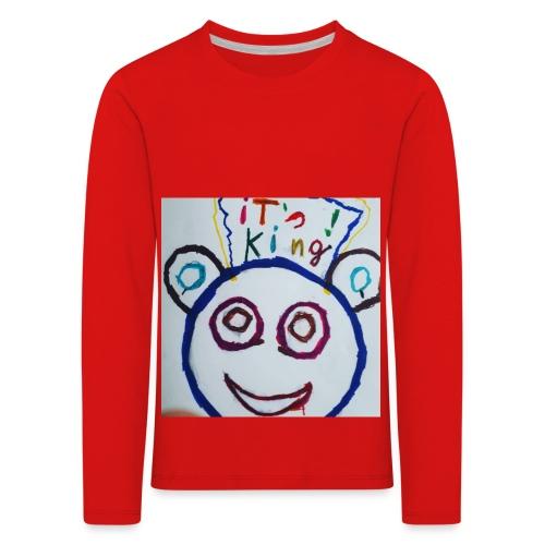 de panda beer - Kinderen Premium shirt met lange mouwen