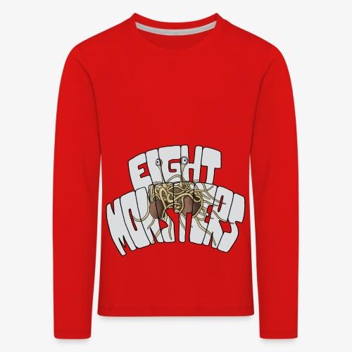 Eight Monsters - T-shirt manches longues Premium Enfant