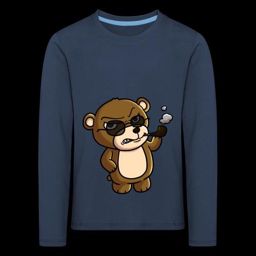 AngryTeddy - Kids' Premium Longsleeve Shirt