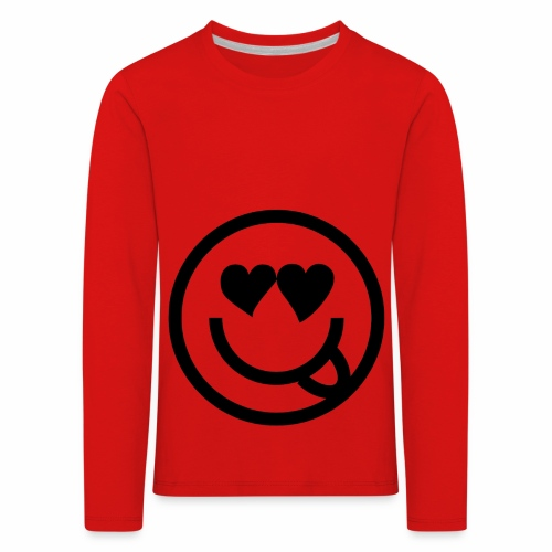 EMOJI 19 - T-shirt manches longues Premium Enfant