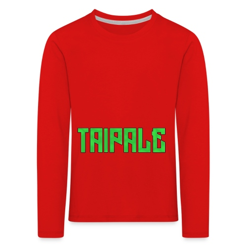 Taipale - Lasten premium pitkähihainen t-paita
