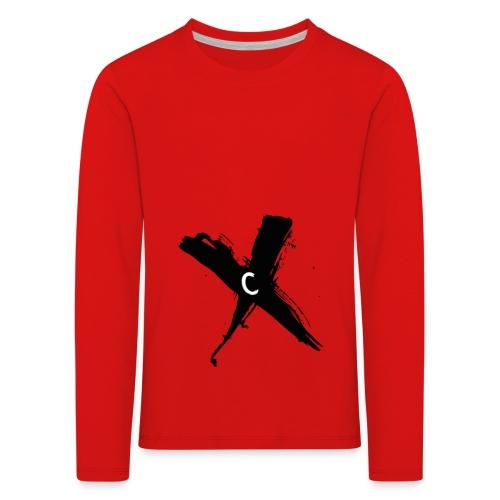 Cinnox Logo Kreuz - Kinder Premium Langarmshirt