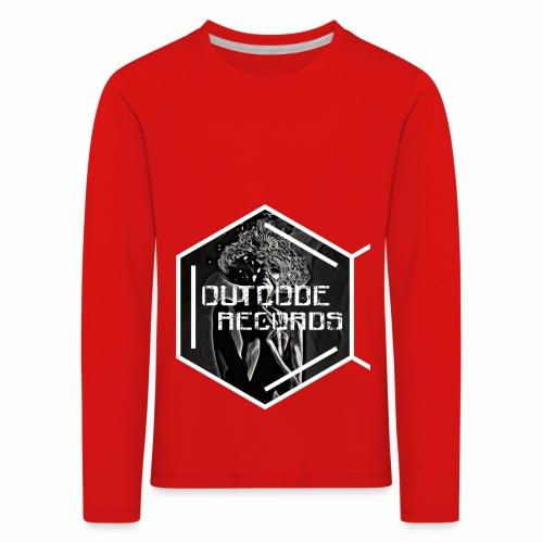 Outcode Records Art - Camiseta de manga larga premium niño