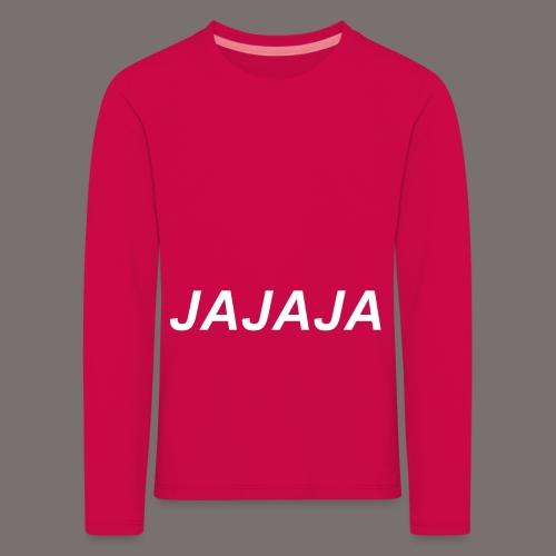 Ja - Kinder Premium Langarmshirt