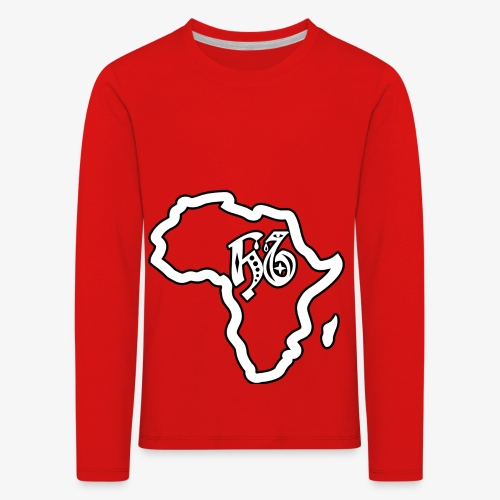 afrika pictogram - Kinderen Premium shirt met lange mouwen