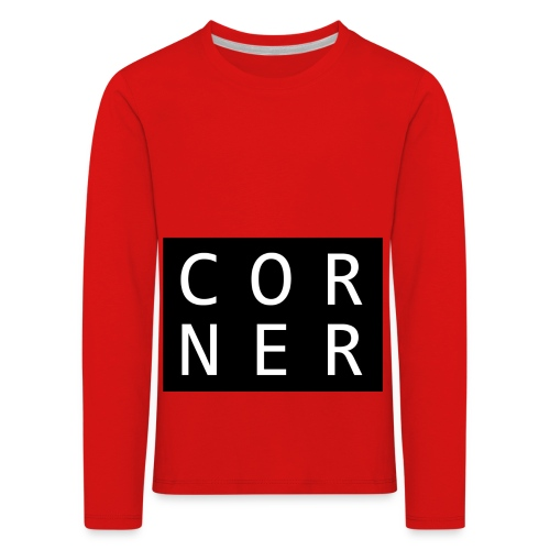 cornerbox - Børne premium T-shirt med lange ærmer