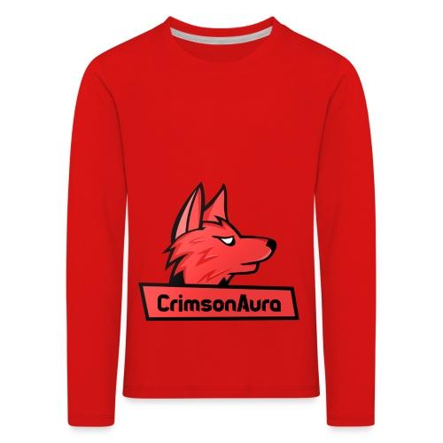 CrimsonAura Logo Merchandise - Kids' Premium Longsleeve Shirt